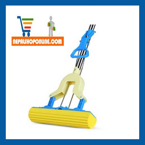 Easy Squeezing Folding Mop