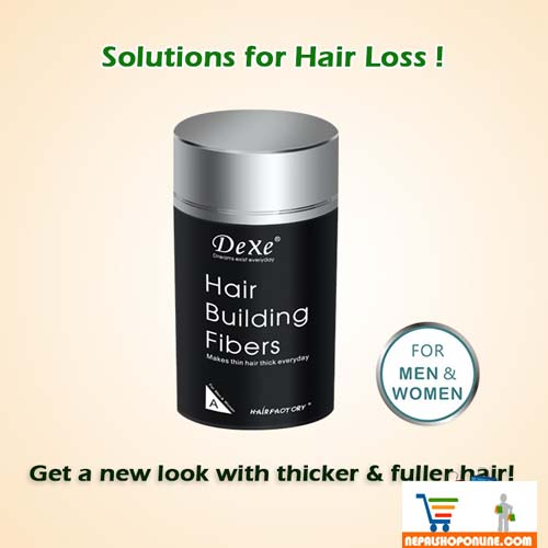 Hair Building Fibre