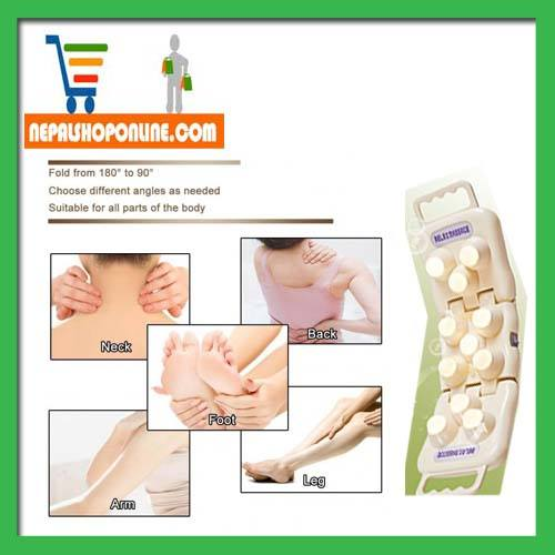 11 Bulb Jade Stone Thermal Massager