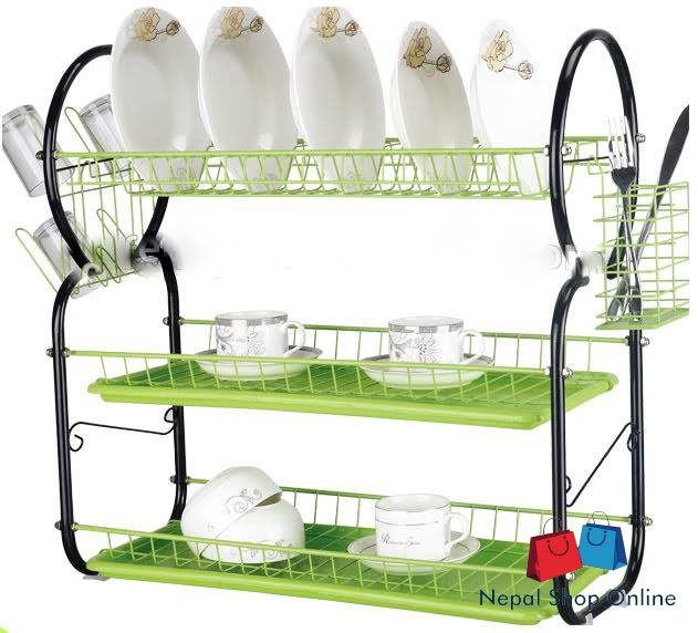 Plate Rack 3 Layer Pr 024h Nepal Shop Online